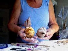 Jill Gerlach from the Ceramic League of Miami gives easy step by step directions on how to make a pinch pot clay bird.  Suitable  for children and adults. Crystal glazes and  low fired, finished off with feathers. www.ceramicleaguemiami.org  To see more of Jill's work go to www.jillgerlach.com