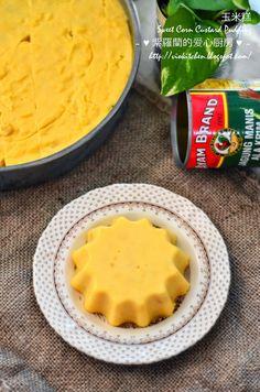 玉米糕 Sweet Corn Custard Pudding