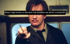 As a person with ADHD Remus gives me hope for my future