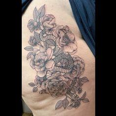 Best Floral Tattoos | TA Floral Tattoos, Animal Tattoos, Tattoo Ideas, Wildlife, Skull, Water, Gripe Water, Flower Tattoos, Aqua