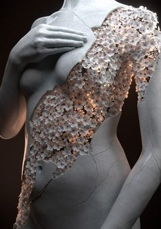 Flower Figures: Digital Sculptures by Jean-Michel Bihorel