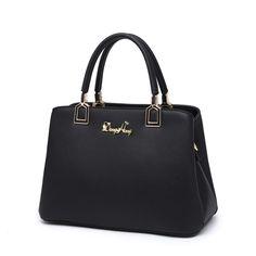 DongHong Genuine leather Handbag Female shoulder bag Real leather Messenger bag Office lady Handbag designer women's bag