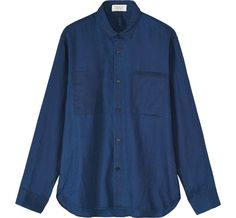 TOAST creates modern, simple clothing for women and functional, thoughtful pieces for the home. Denim Button Up, Button Up Shirts, Build A Wardrobe, Chambray Dress, Simple Outfits, Lounge Wear, Indigo, Shirt Dress, Blouse
