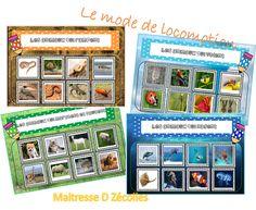 Atelier de manipulation : Le mode de locomotion des animaux - Mes tresses D Zécolles Ms Gs, Explorer, Happy Mom, Game Boards, Atelier, Animaux, Braids