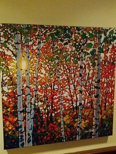 """""""October Birches Mont Tremblant"""" by Tim Packer"""