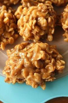 Karen's Korner: Peanut Butter No Bake Cookies! Only made 2 dozen not 3.5 though.