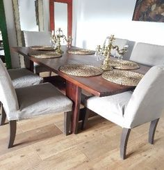 Mideco added a new photo. Dining Bench, Dining Chairs, Furniture, Home Decor, Blog, Diy, Rustic Furniture, House Decorations, Dining Room Tables