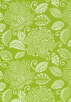 WATERBURY, Green, F99267, Collection Avalon from Thibaut