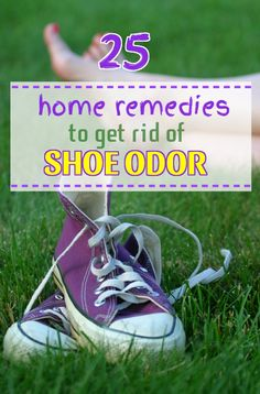 Are you bothered by the subtle but growing smell coming from your shoes?  Here are