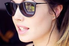 Ray Ban Erika matte black LOVE THESE!!!