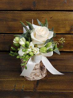 Flowers of Soul: Lumanari de cununie Diy And Crafts, Wedding Flowers, Table Decorations, Bride, Green, Plants, Home Decor, Wedding Bride, Decoration Home