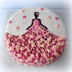 56 Trendy birthday cake decorating ideas kuchen You are in the right place about Birthday Cake Here we offer you the most beautiful pictures about the cute Birthday Cake you are l Fancy Cakes, Cute Cakes, Pretty Cakes, Gorgeous Cakes, Cake Decorating Techniques, Cake Decorating Tips, Cake Decorating Amazing, Cookie Decorating, Fondant Cakes
