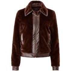 Compre Blusão curto em imitação pele 100% poliuretano Mulher na La Redoute. O melhor da moda online.