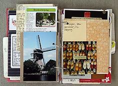 Love that she compiled this travel journal while she was traveling :) If only I could get in the habit of doing recording a little everyday as it comes.
