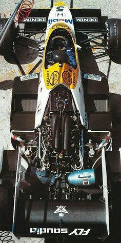 Jacques Laffite's 1984 Williams-Honda V6Turbo