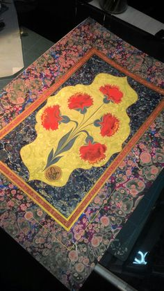 Textile Prints, Textiles, Ebru Art, Indian Prints, Marble Art, Blue Bird, Folk Art, Ottoman, Traditional