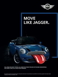 The official Rolling Stones app Mini Countryman, Mini Clubman, Yellow Mini Cooper, Mini Driver, Mini Copper, Mighty Max, Moves Like Jagger, Morris Minor, Great Ads