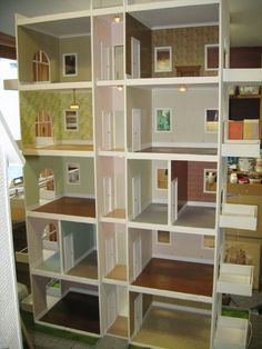 Big Doll House, Doll House Plans, Barbie Doll House, Girl House, Barbie Dolls, Town House, Bratz Doll, Barbie House Furniture, Doll Furniture