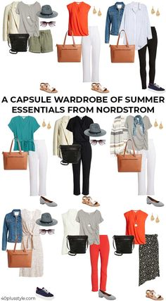 Jeans Outfit Summer, Summer Fashion Outfits, Preppy Outfits, Stylish Outfits, Capsule Wardrobe Women, Capsule Outfits, Fashion Capsule, Jean Capri Outfits, Fashion Over Fifty
