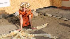 Nello scavo dei piccoli paleontologi.