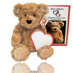 This kit comes with a single bear, an instructional booklet, a heart notepad and a marker. The bear can serve as a keepsake or memory maker for a person who is experiencing grief due to the loss of a loved one.