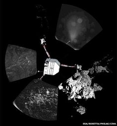 Comet lander: Future of Philae probe 'uncertain'   The Philae lander has attempted to drill into the surface of comet 67/P, amid fears that its battery may die in hours.  Researchers at Esa say the instrument is being deployed to its maximum extent despite the risk of toppling the lander.  Scientists hope they will also be able to capture some samples for analysis in the robot's onboard laboratories.  If the battery dies the results may not make it back to Earth.