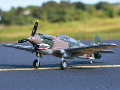 FMS P-40B - $382.46 RC Fixed-wing Aeroplane Flying Tiger  Aeroplane Model PNP Version #FMS, #Aeroplane, #Model, #gearbest, #модель, #самолет, #радиоуправляемая   7330