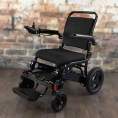 WeatherPROOF Electric Wheelchair | FOLD & GO Electric Wheelchairs® Portable Wheelchair, Powered Wheelchair, Handicap Equipment, Preschool Special Education, Wall Outlets, Wheelchairs, Bag Storage, Charcoal