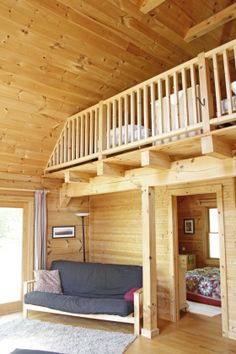 Small Log Cabin Interiors Concept Theres No Place Like Dream