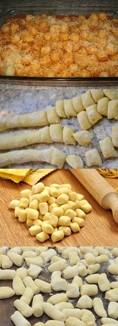 Potato Recipes, Snack Recipes, Cooking Recipes, Snacks, I Love Food, Good Food, Yummy Food, Gnocchi Recipes, Portuguese Recipes