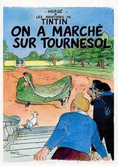On a marché sur Tournesol par Boucq.