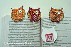 Owl bookmarks - super simple to make