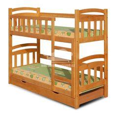 Patrová postel, palanda Kasper + 2x matrace a rošty | Levný nábytek a sedací soupravy | nabytek-kuplevne.cz