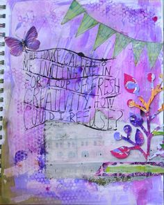 Journal Lines with a Transparency  Tutorial @ http://acolorfuljourney.com/?p=811
