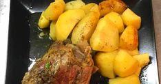 Υλικά Συνταγής    κότσια χοιρινά όσα χρειάζεστε για το τραπέζι σας   θυμάρι   ρίγανη   αλάτι   πιπέρι   2 σκ. σκόρδο... Pot Roast, Park, Ethnic Recipes, Food, Carne Asada, Roast Beef, Essen, Parks, Meals