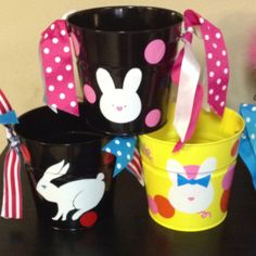 Easter pails! Fun with the Cricut!