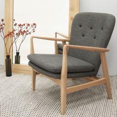 Carl - Scandinavian Style Armchair