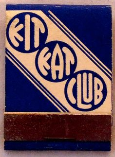 Kit Kat Club #frontstriker #matchbook - To order your Business' own Branded #matchbooks or #matchboxes GoTo: www.GetMatches.com or CALL 800.605.7331 TODAY! Vintage Graphic Design, Vintage Designs, Crazy Cat Lady, Crazy Cats, Vintage Packaging, Typography, Lettering, Lost Art, Art Music