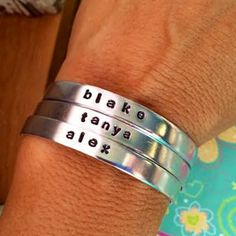 Bangles are definitely in for fall! The perfect accessory and you can totally customize these for only $6.99!