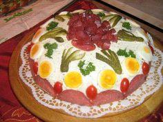 Das perfekte Brottorte zum 90. Geburtstag-Rezept mit Bild und einfacher Schritt-für-Schritt-Anleitung: Ein schönes rundes Bauernbrot, mein Bäcker hat es…