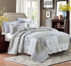 Captivating Legency Queen To King Bed Coverlet Set   Shop
