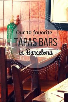 Food Tours- Tapas in Barcelona are everywhere and the choices can sometimes be daunting! Check out our top ten favorite tapas bars in Barcelona! Barcelona Food, Barcelona Travel, Barcelona Restaurants, Barcelona Bars, Barcelona 2016, Shopping In Barcelona, Chicago Restaurants, European Vacation, European Travel