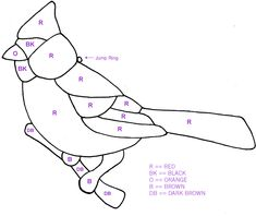 Stained Glass Patterns | Free Bird Patterns For Stained Glass