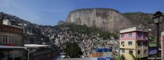 Take a look at this motorbike ride through the streets of Rio's biggest favela, Rocinha, taken as part of the BBC's coverage of the World Cup 2014.
