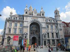 Antwerp Central Station, from Dekeyserlei.