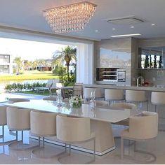 Home Room Design, Dream Home Design, Dining Room Design, Home Interior Design, Luxury Kitchen Design, Luxury Kitchens, Home Kitchens, Home Decor Kitchen, Kitchen Interior