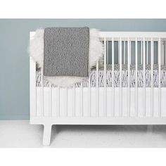 Shop OLLI+LIME for black and white crib bedding. Gender neutral modern baby bedding, baby blankets and more to help you create a beautiful nursery. White Crib Bedding, Modern Baby Bedding, Grey Crib, Modern Crib, Baby Bedding Sets, Nursery Bedding, Comforter Sets, Crib Mattress, Crib Sheets
