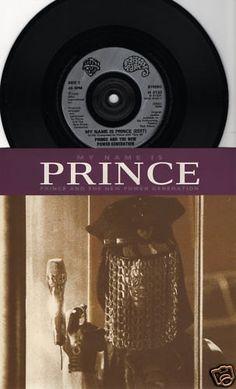 "PRINCE My Name Is Prince 1992 Uk Issue 7"" 45 rpm Vinyl Single record pop dance hip hop 90s music purple rain W0132 Free Shipping"