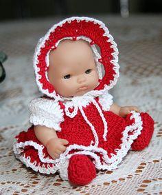 PDF PATTERN Crochet 5 inch Berenguer Baby Doll от charpatterns