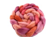 Hand Dyed Corriedale Tops in Apricot Pink Mix Felting, Spinning, Hands, Wool, Pink, Hand Spinning, Felt Baby, Hot Pink, Pink Hair